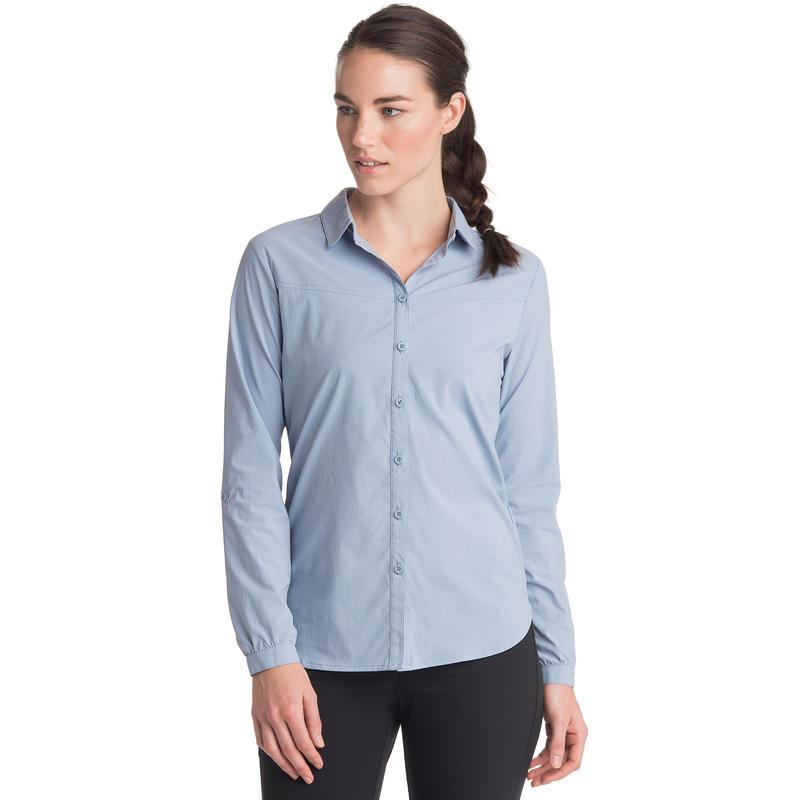 Magnolia Long-Sleeved Shirt Dusty Blue
