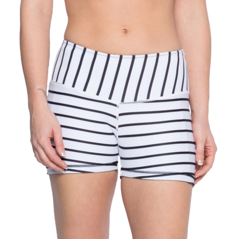 Short Cove Sup Rayures noires et blanches