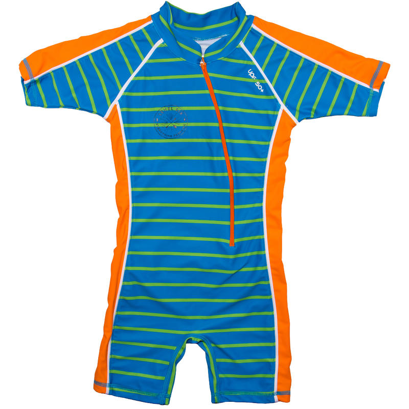 Aurora/Apollo SunSuit Green Stripes
