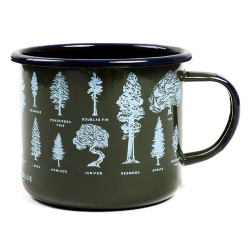 Evergreen Enamel Mug Evergreen