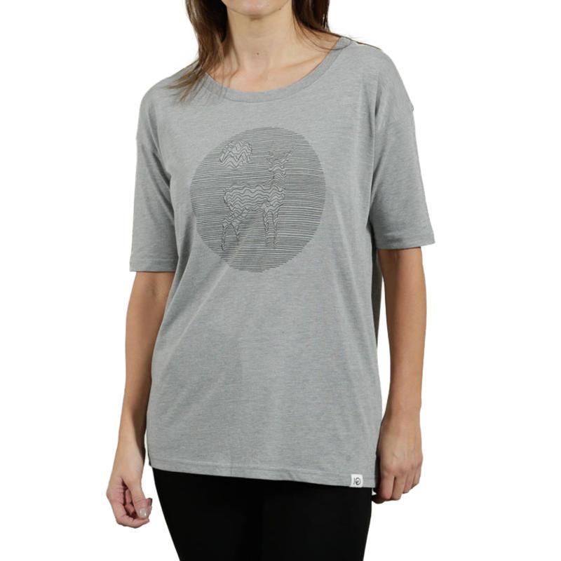 T-shirt Eden Gris bruyère