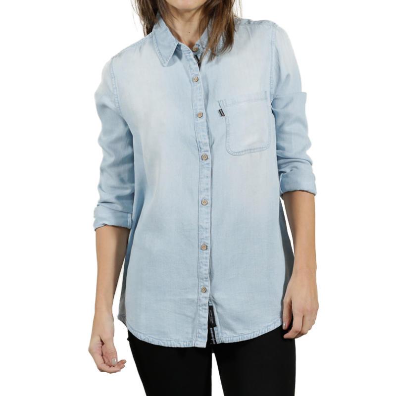 T-shirt Fernie à manches longues Délavé clair