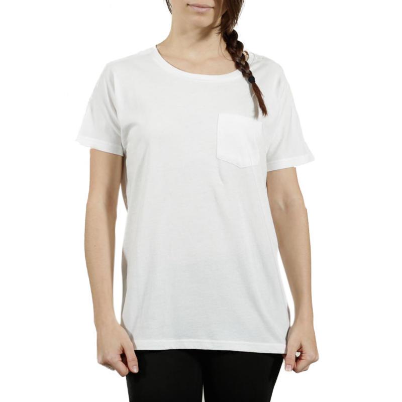 T-Shirt avec poche Mountainside Blanc