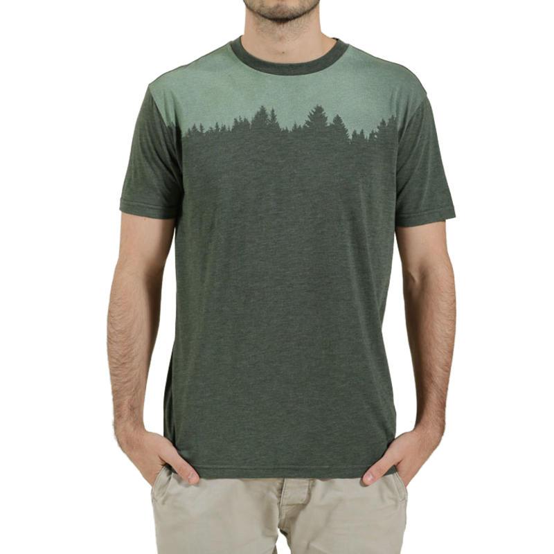 T-shirt Juniper Vert mousse