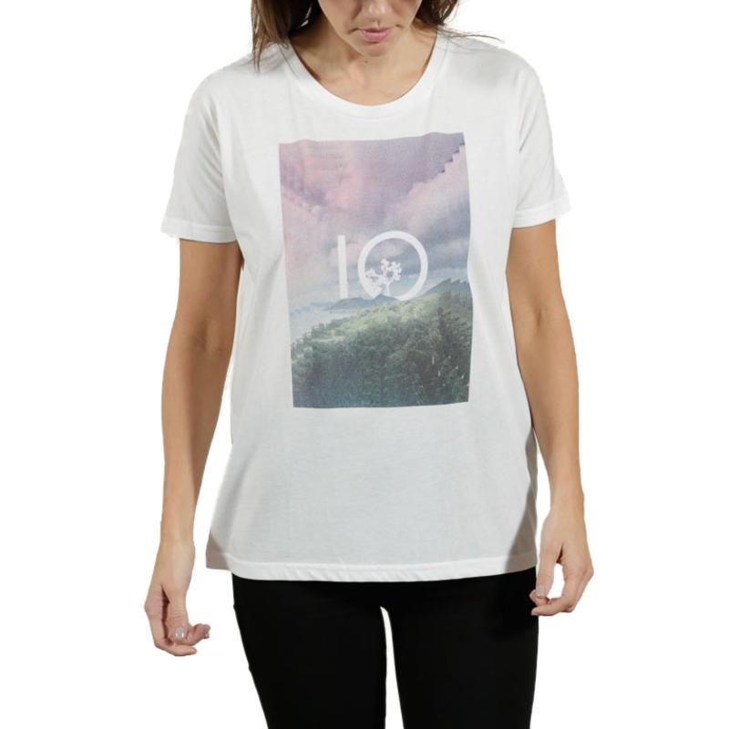 T-shirt Ocian Blanc