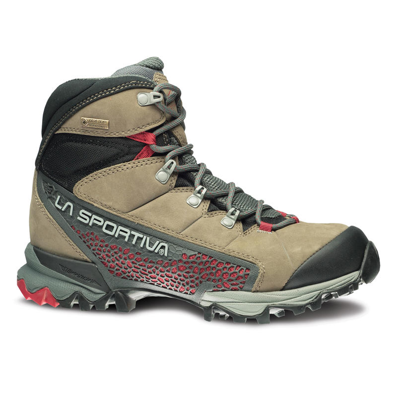 Nucleo High GTX Light Trail Shoes Taupe/Berry
