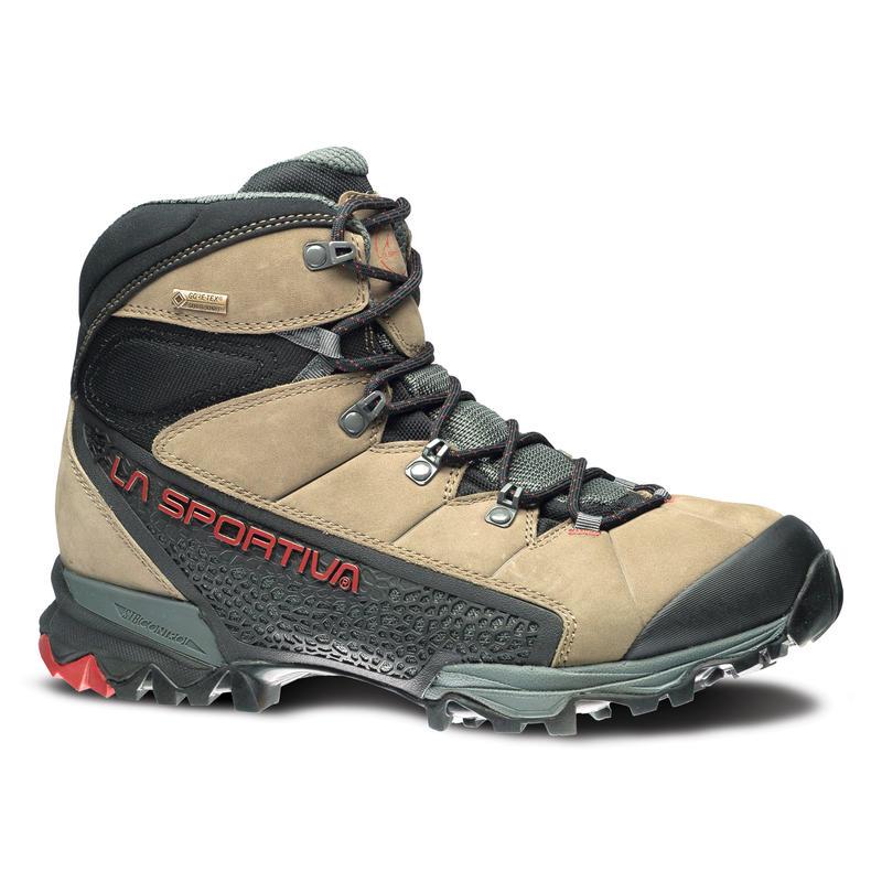 Chaussures de randonnée légère Nucleo GTX Taupe/Brique