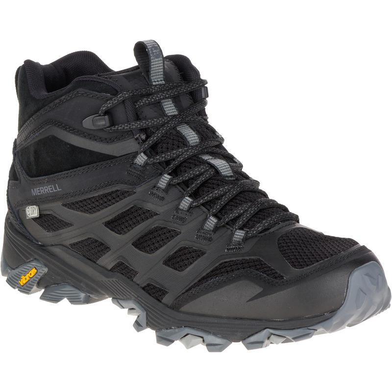 Chaussures de randonnée imperméables Moab Mid FST Noir
