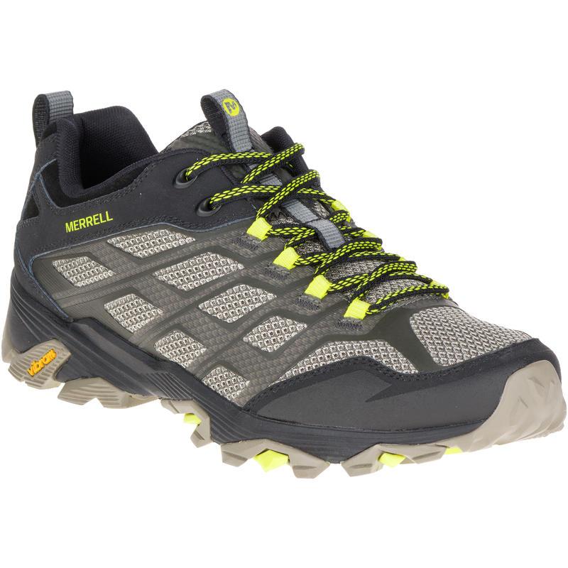 Chaussures de randonnée légère Moab FST Vert olive/Noir