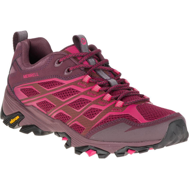 Moab FST Light Trail Shoes Beet Red