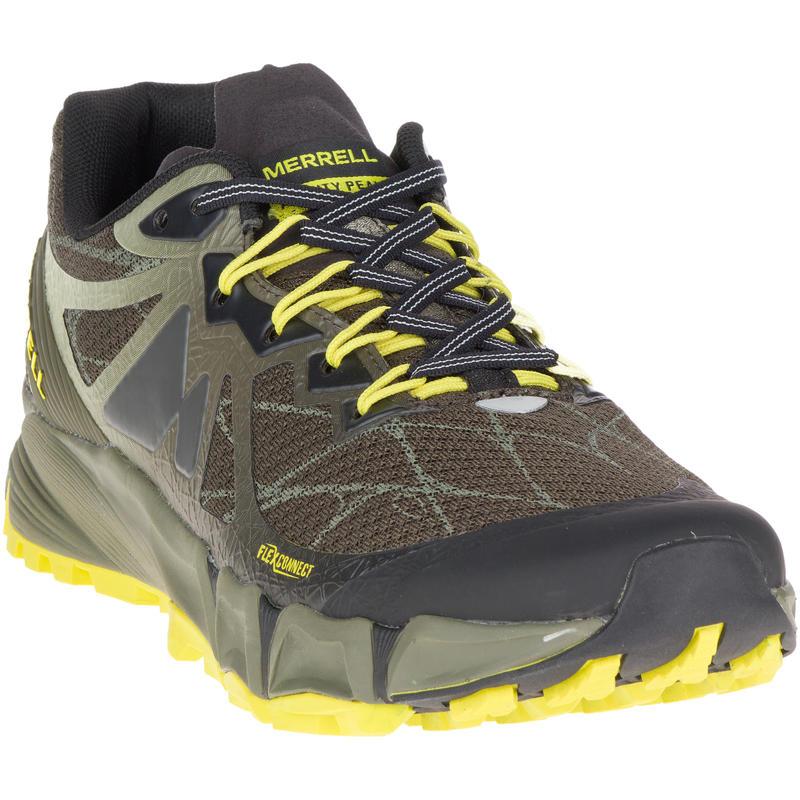 Chaussures de course sur sentier Agility Peak Flex Beluga/Olive