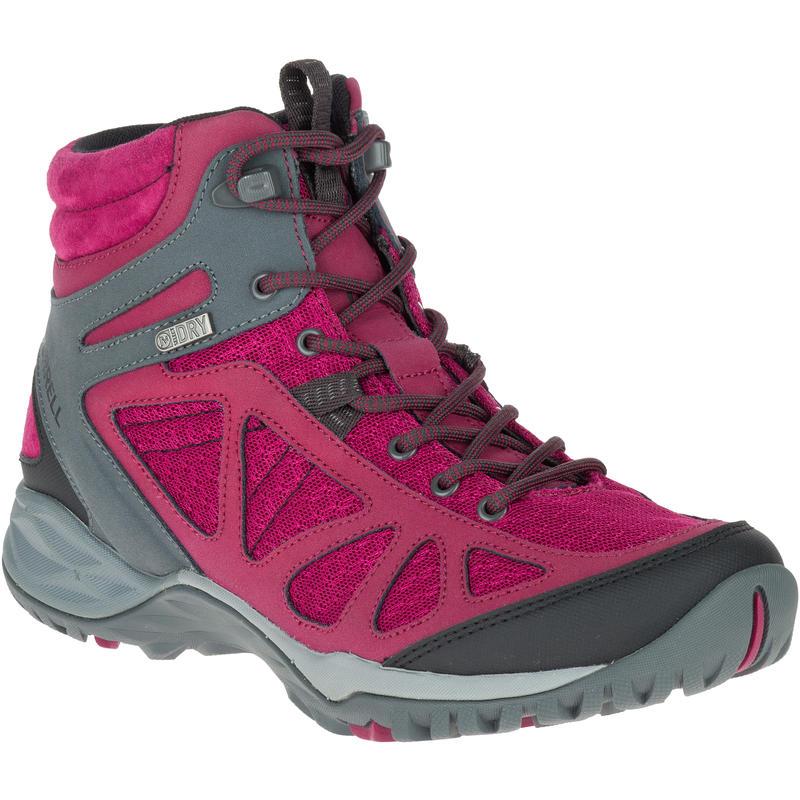 Chaussures imperméables mi-hautes Siren Q2 Sport Beet Red/Navy