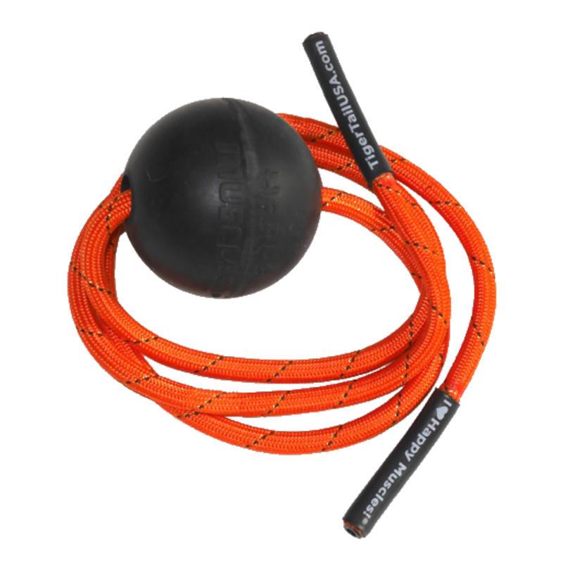 Balle Tiger (7 cm) Orange/Noir