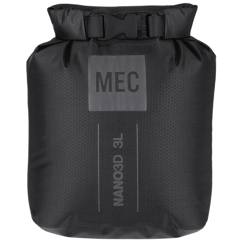 Nano 3D Dry Bag Black