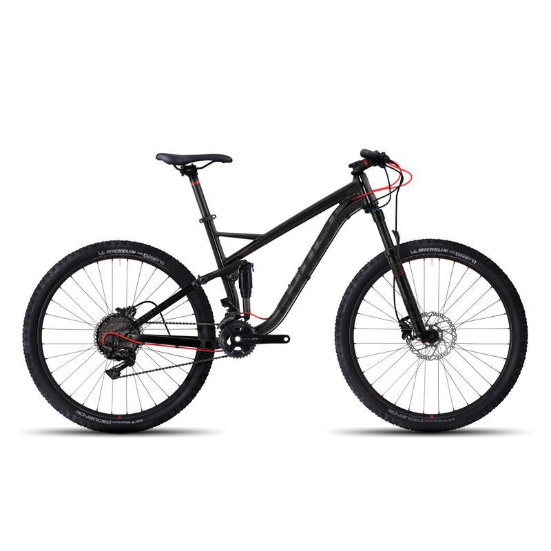 Vélo Kato FS 5 Noir/Néon rouge