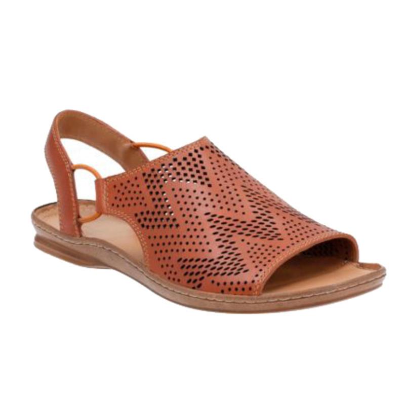 Sandales Sarla Cadence Cuir brun roux
