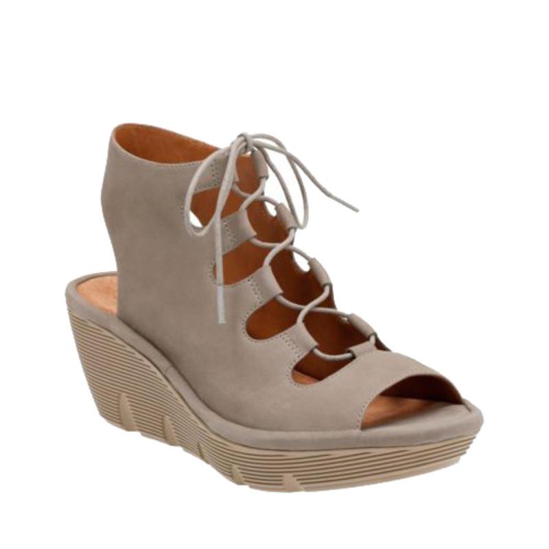 Chaussures Clarene Grace Nubuck sauge
