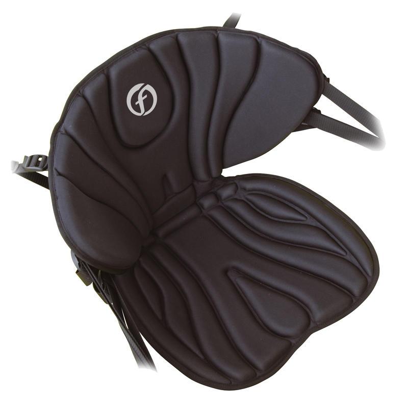 Siège Deluxe pour kayak Noir