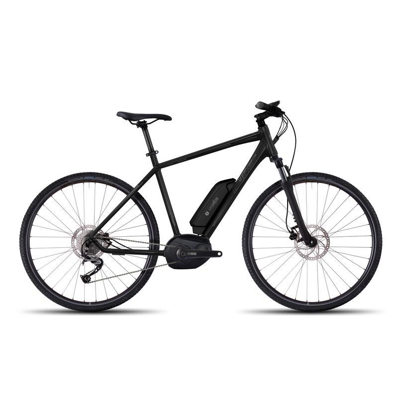 Vélo électrique Andasol Cross 2 Noir nuit/Titane