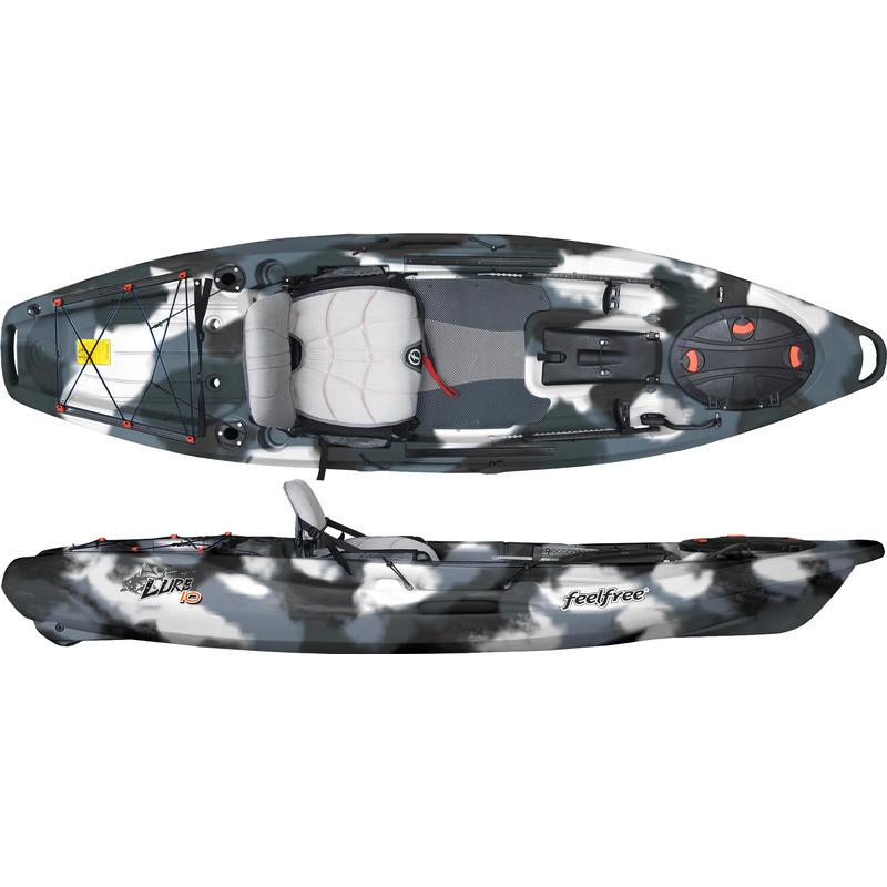 Lure 10 Kayak (w/o rudder) Winter Camo