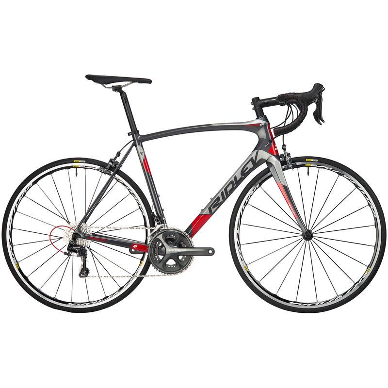 Vélo Fenix SL40 Gris/argent/rouge