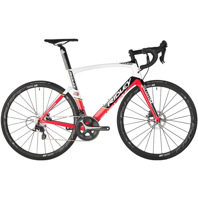 Vélo de route Noah SL40 avec freins à disque Blanc/Rouge/Noir