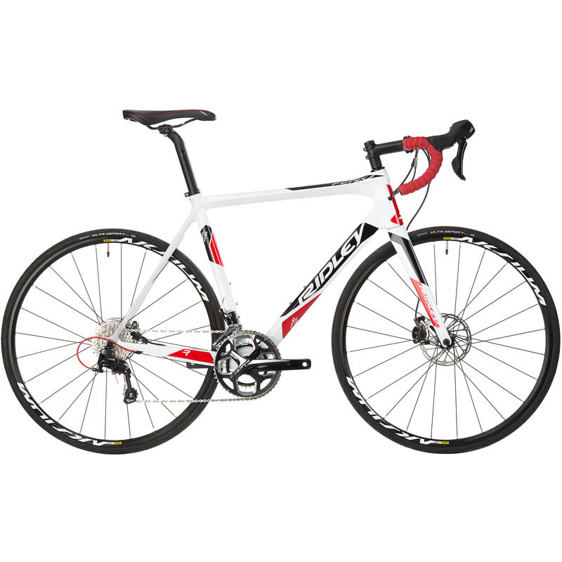 Fenix C50 Disc Road Bicycle white/black/red