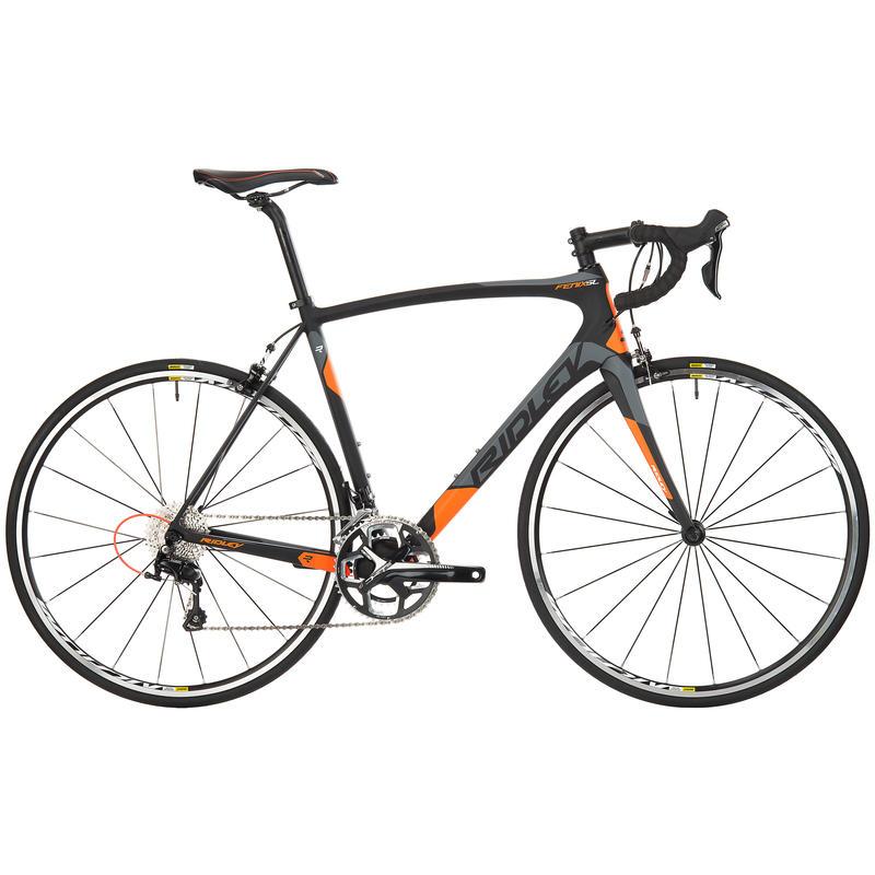 Vélo de route Fenix SL50 Noir/Vert/Orange néon