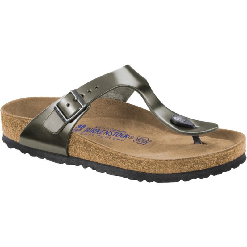 Gizeh Sandals Metallic Anthracite