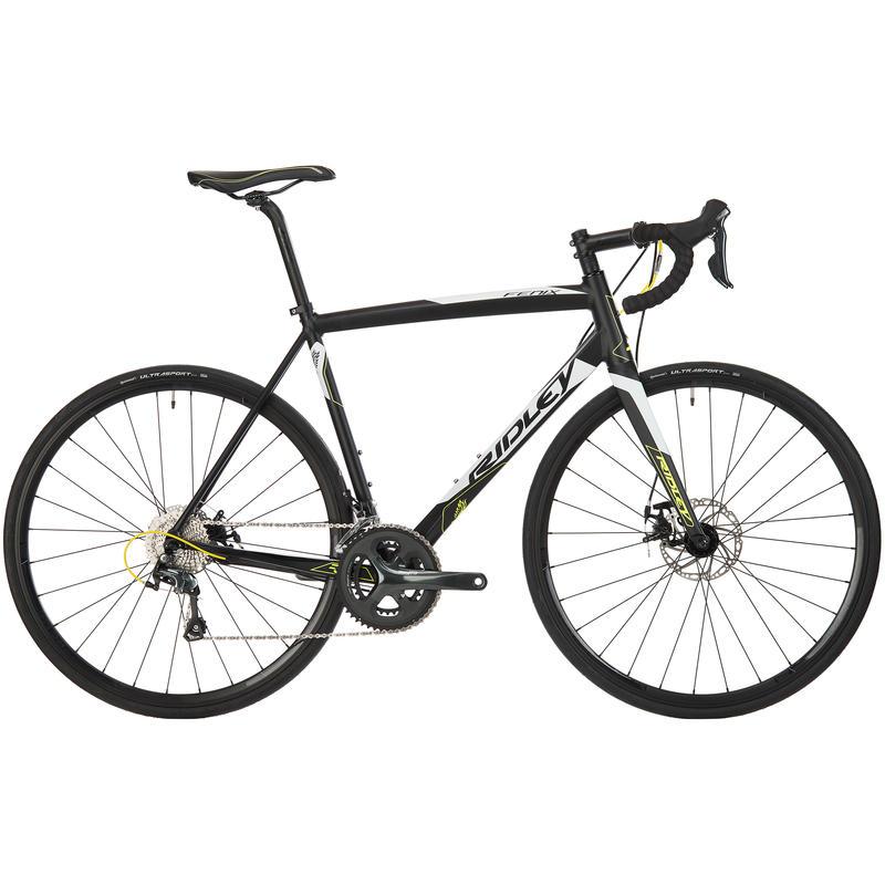 Vélo de route Fenix A20 Noir/Blanc/Jaune néon