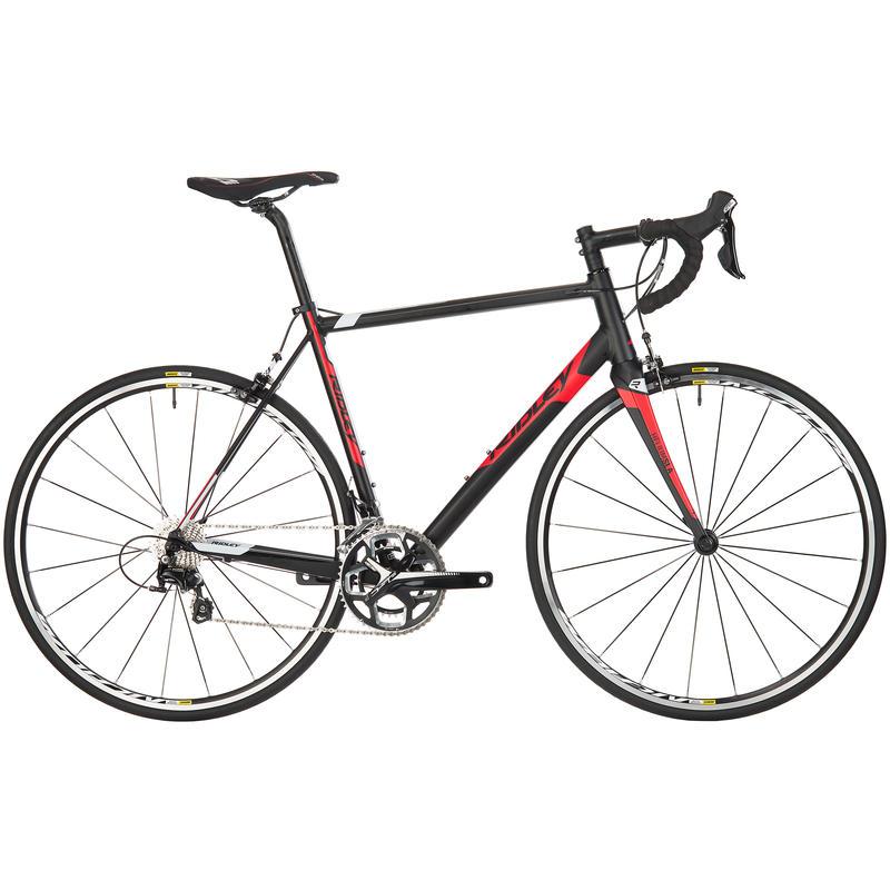 Vélo de route Helium SLA 50 Noir/Blanc/Rouge