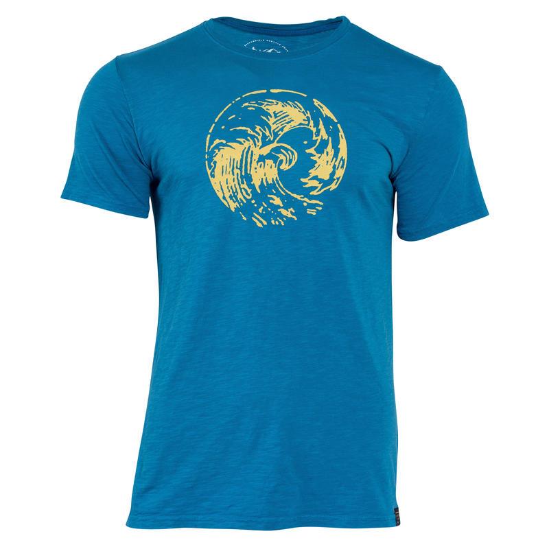 T-shirt Great Waves Bleu céleste