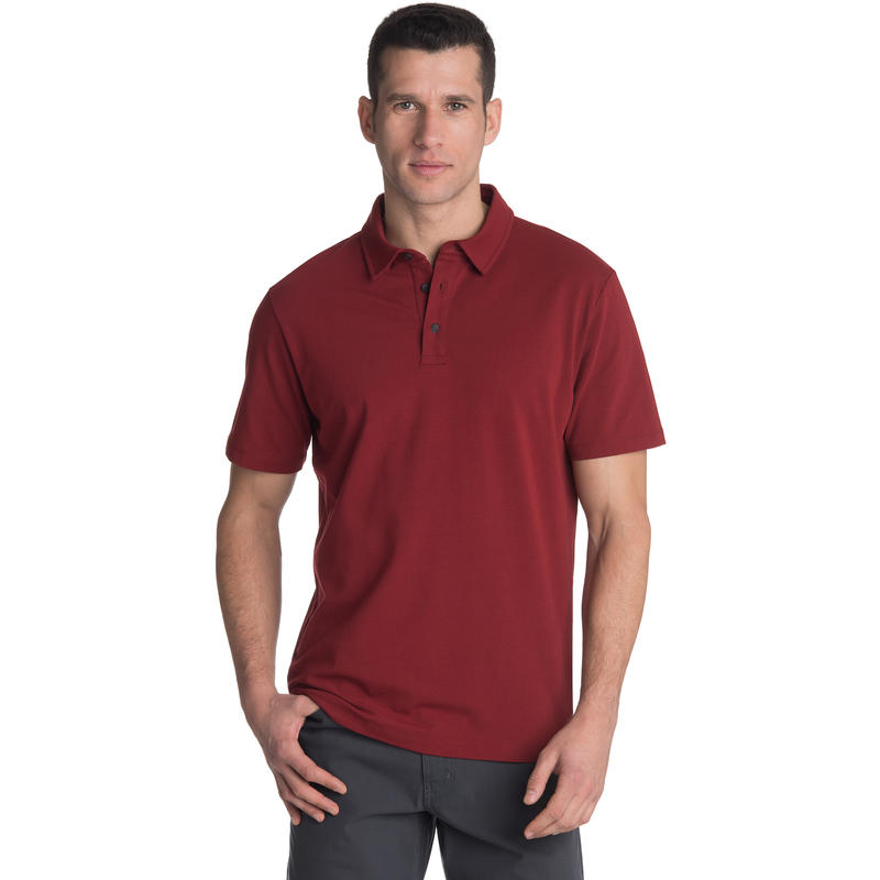 Polo Channel Haricot rouge