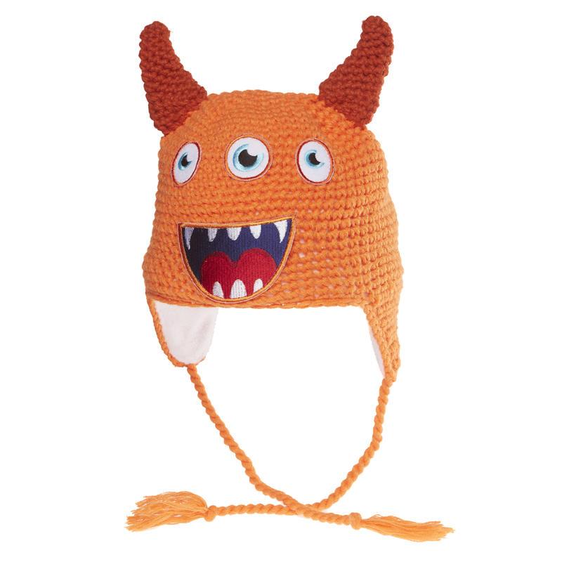 Tuque à cache-oreilles Maniacs Orange danger