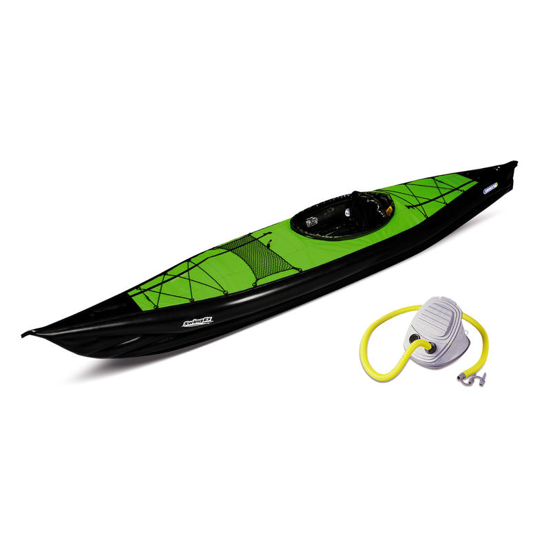 Kayak Swing EX avec pompe Vert/Noir