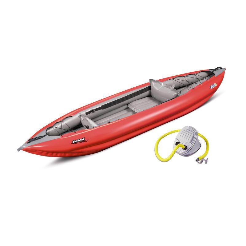Kayak Safari 330 avec pompe Rouge