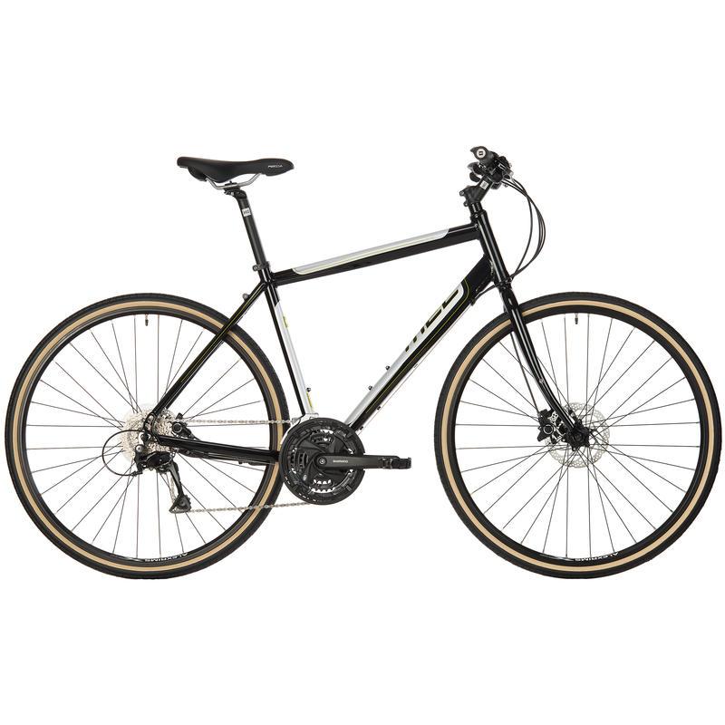 Vélo Midtown Noir/Argent