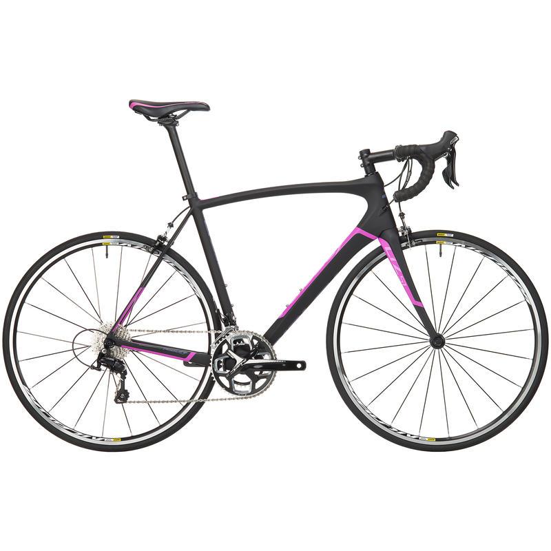 Vélo de route Liz SL50 Noir/Pourpre