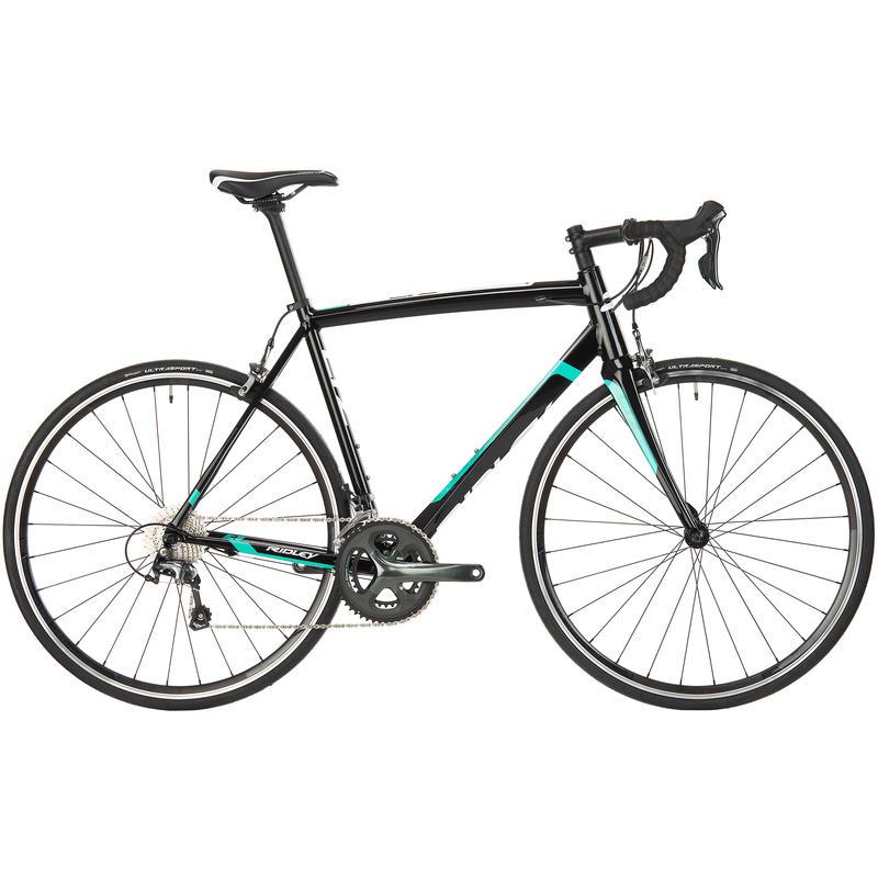 Vélo de route Liz A60 Noir/Vert/Blanc
