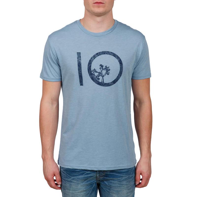 T-shirt Vintage Topo Bleu voilé