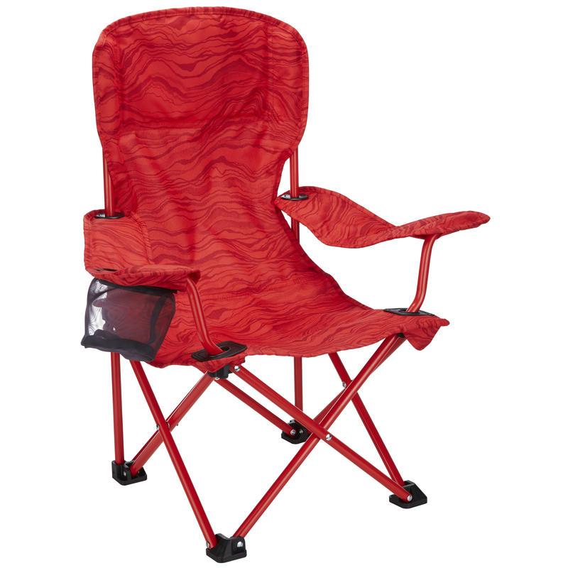 Chaise Camp pour enfants Rouge victorieux