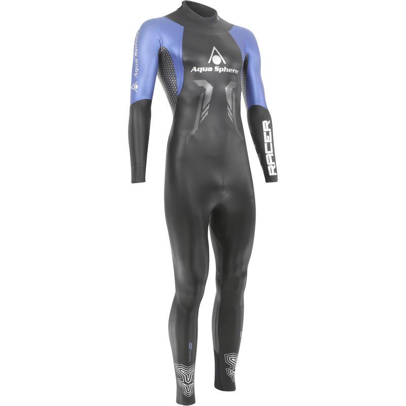Combinaison isothermique Racer Noir/Bleu