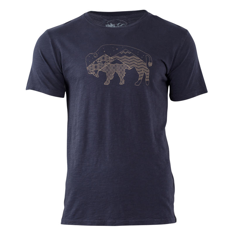 T-shirt Starry Bison Marine