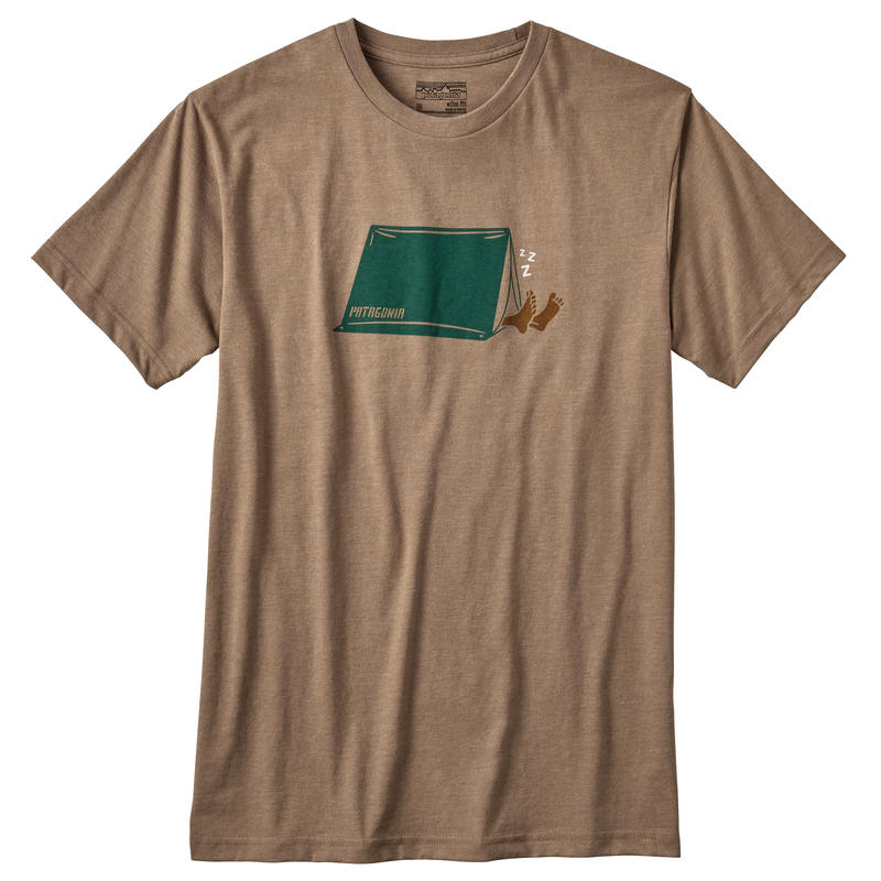 T-shirt Napping Camper Mojave kaki