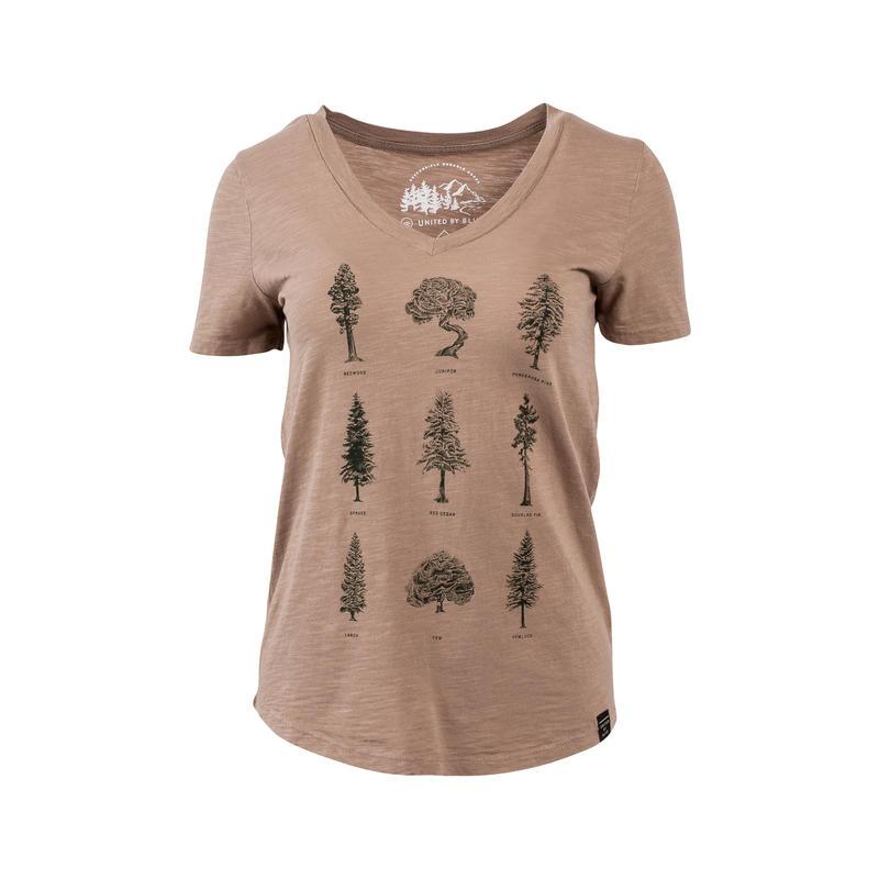 T-shirt Evergreen 2 Brun roux