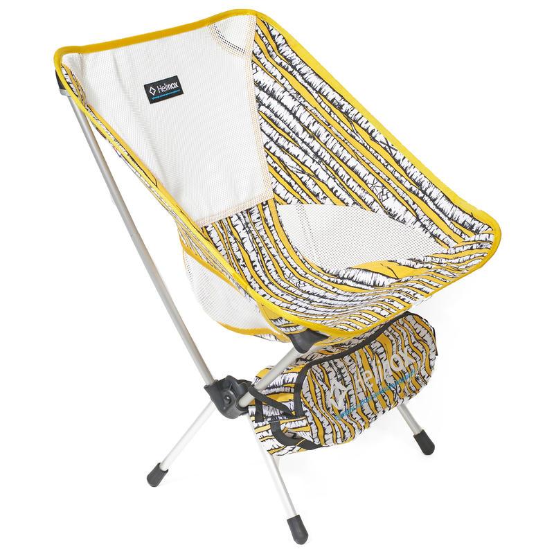 Chaise One Imprimé Aspen/Argent