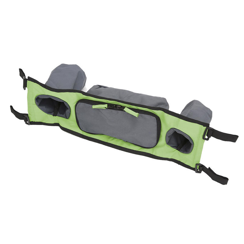 Module de rangement pour poussette double Vert