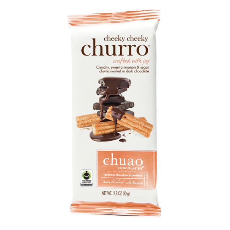 Tablette de chocolat noir au churro
