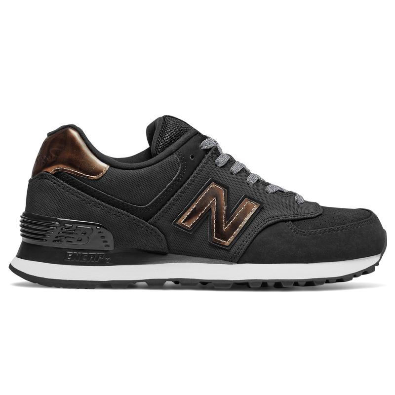 Chaussures 574 Noir/Bronze métallique