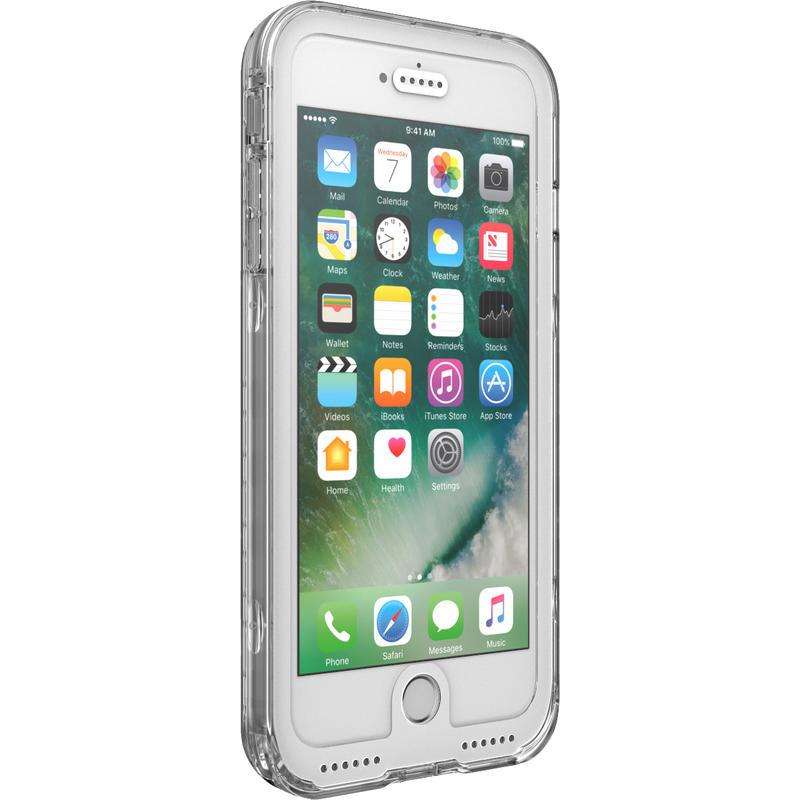 Étui étanche Marine pour iPhone 7 Plus Blanc/Transparent